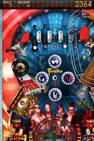 Screenshot Fanta 4 Pinball