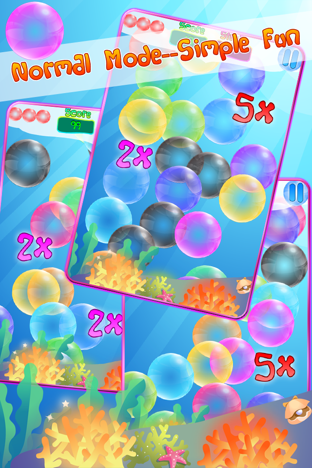 Screenshot Bubble Mania for iPhone & iPod touch